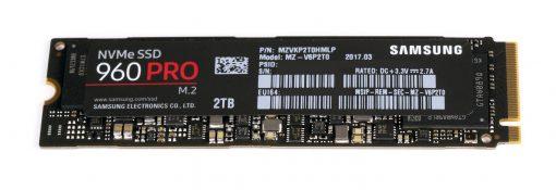 Samsung 960 Pro M.2 NVMe SSD