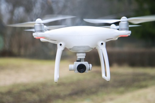 DJI Phantom Drone, External Hard Drive for Drone microSD Footage