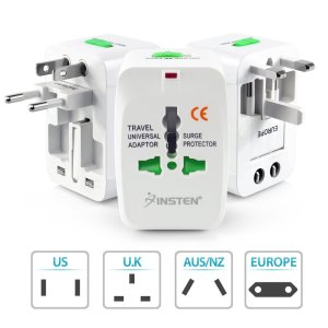 Insten Universal World Wide Travel Charger Adapter