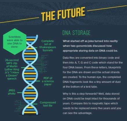 dna storage future