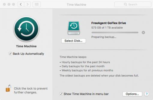 Best Mac external hard drive backup, Apple Time Machine