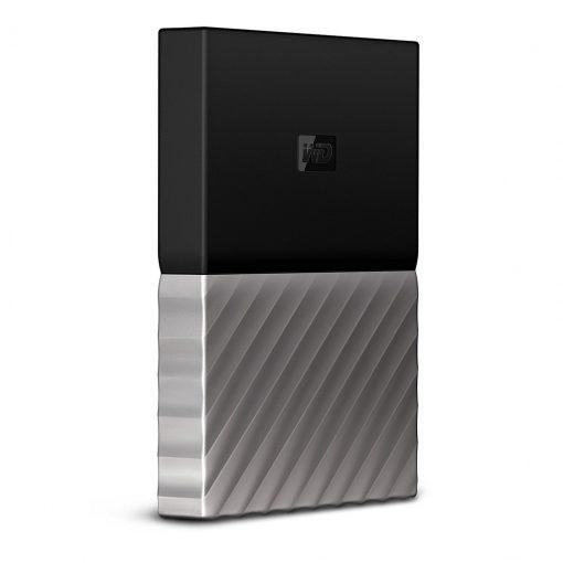 My Passport Western Digital WD metallic design, external portable hard drive review