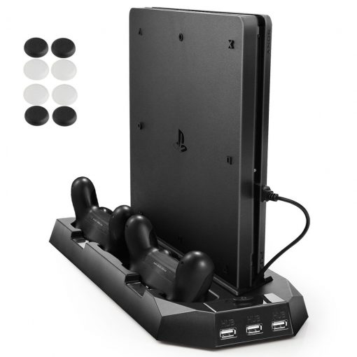 Pecham Vertical Stand for PS4 Slim / PS4 with Cooling Fan Review