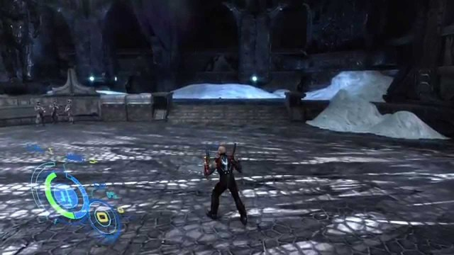Too Human Xbox 360 gameplay