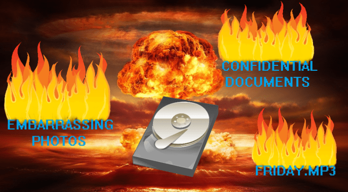 How to completely destroy hard drive data, methods