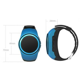 NS Wireless Bluetooth Speaker Wrist Watch reviews