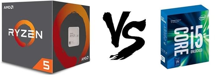 AMD Ryzen 5 vs Intel i5