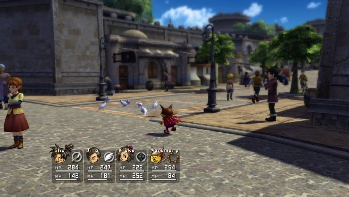 Blue Dragon xbox 360 gameplay