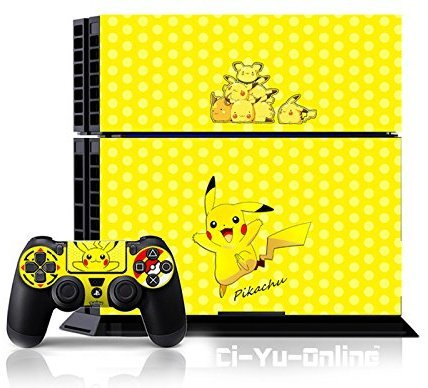 Ci-Yu-Online Skin for PS4 System Console and Controllers