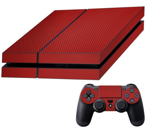 Decalrus - Sony PlayStation 4 Texture Carbon Fiber Skin