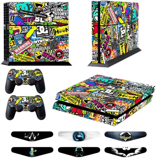 Game Excel Skins for PS4 Controller