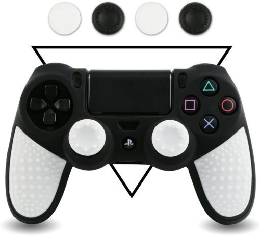 LZETC Silicone PS4 Controller Skin