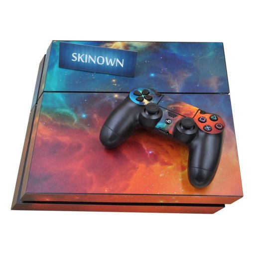 SKINOWN Vinyl Decal Cover for Sony PS4