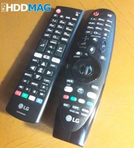 LG magic remote vs standard remote