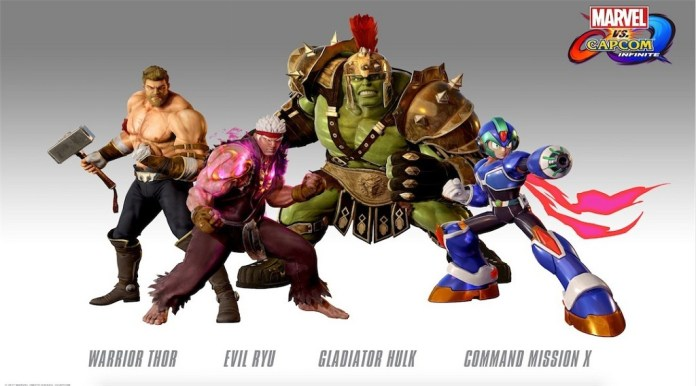 Marvel VS Capcom: Infinite Trailer Flaunts Pre-Purchase Skins