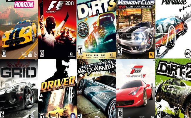 Top 10 Xbox 360 Racing Games 2018