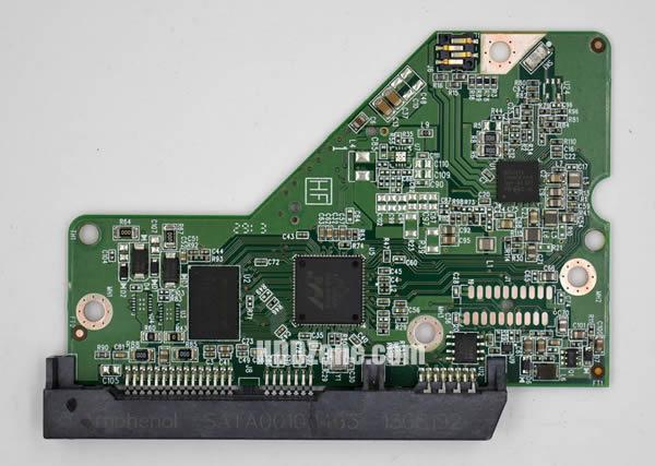 WD40EFRX WD PCB 2060-771945-001 REV A / P1