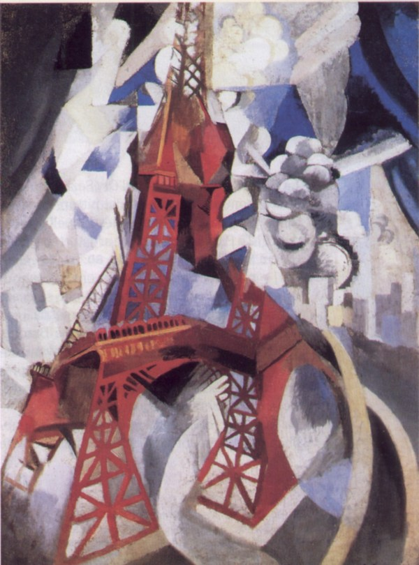 Robert Delaunay Eiffel Tower Red