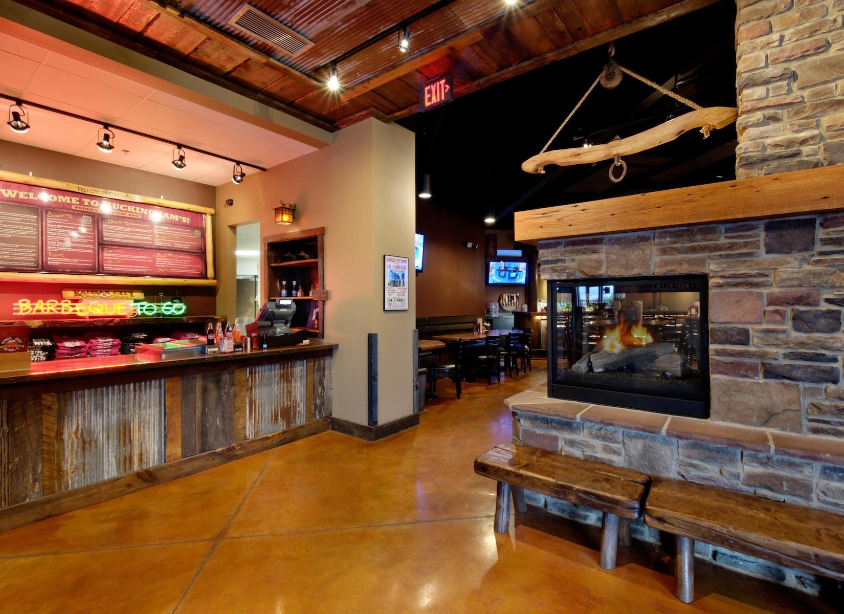 Bbq Restaurant Interior Design Ideas