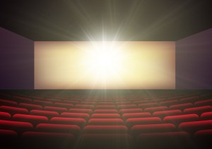 Hollywood Divine International Film Fest Movie Theater Background