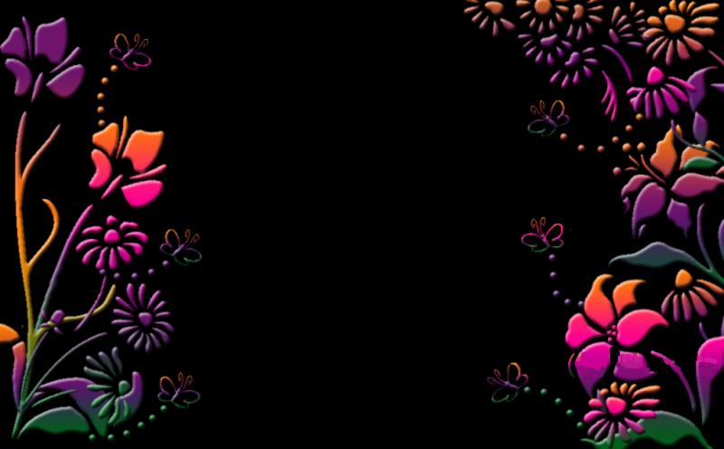 Pretty Fall Desktop Wallpaper Black Flower Background 1 Background Hdflowerwallpaper Com