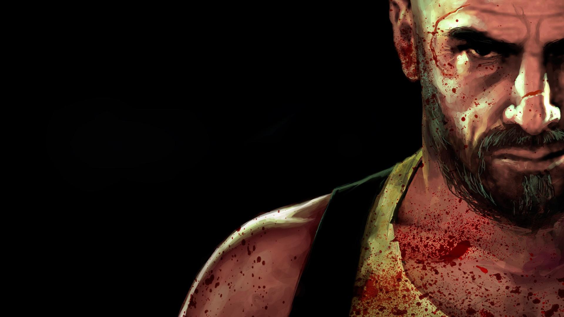 Anime Hd Wallpapers 1080p Fond D 233 Cran Hd Max Payne 3 Visage Tach 233 E Images Et Photos