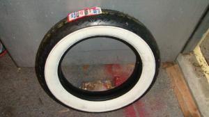 Avon Gangster wide whitewall tire 16