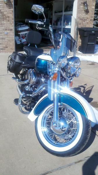 Big Blue Pearl Paint : pearl, paint, Bombshell, Paint, Harley, Davidson, Forums