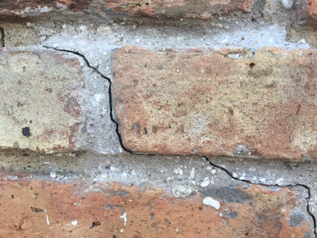 Cracks appearing