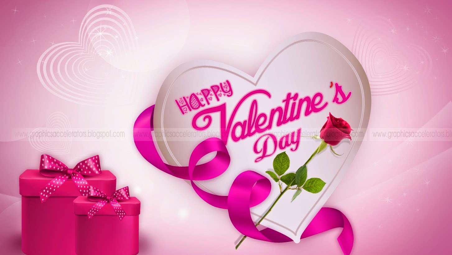 Free Top Wallpaper Pink Heart Hd Wallpapers On Valentines