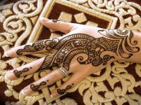 Arabic-Eid-Mehndi-Designs-free-hd-wallpapers - HD Wallpaper