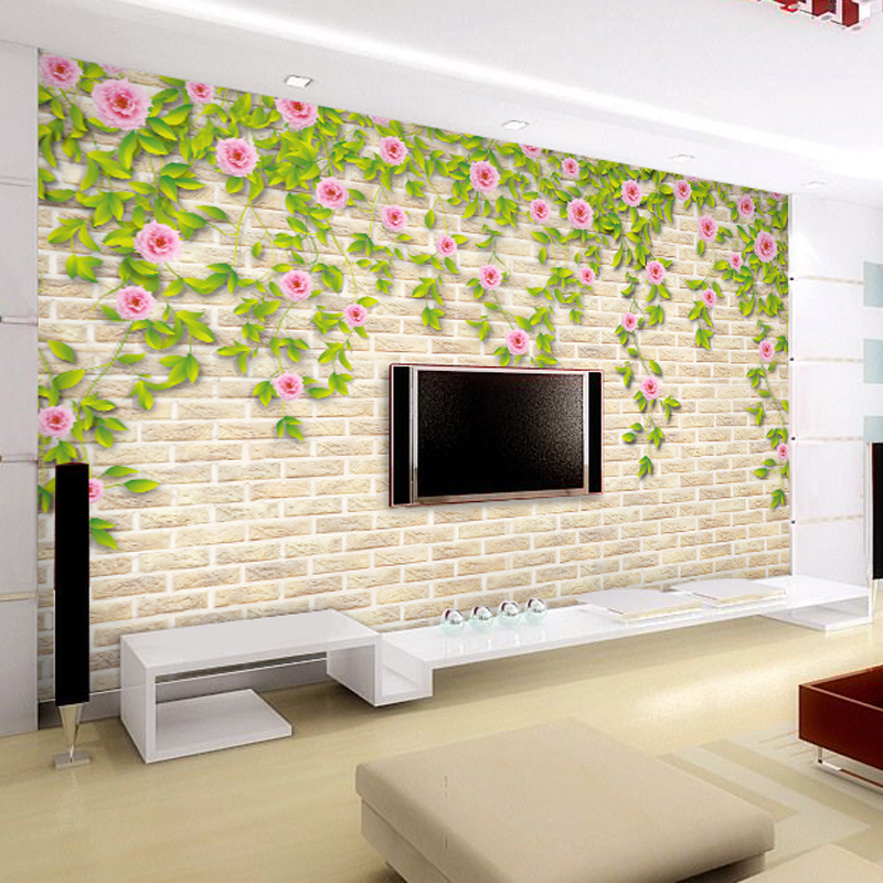 living room wall self adhesive wallpaper