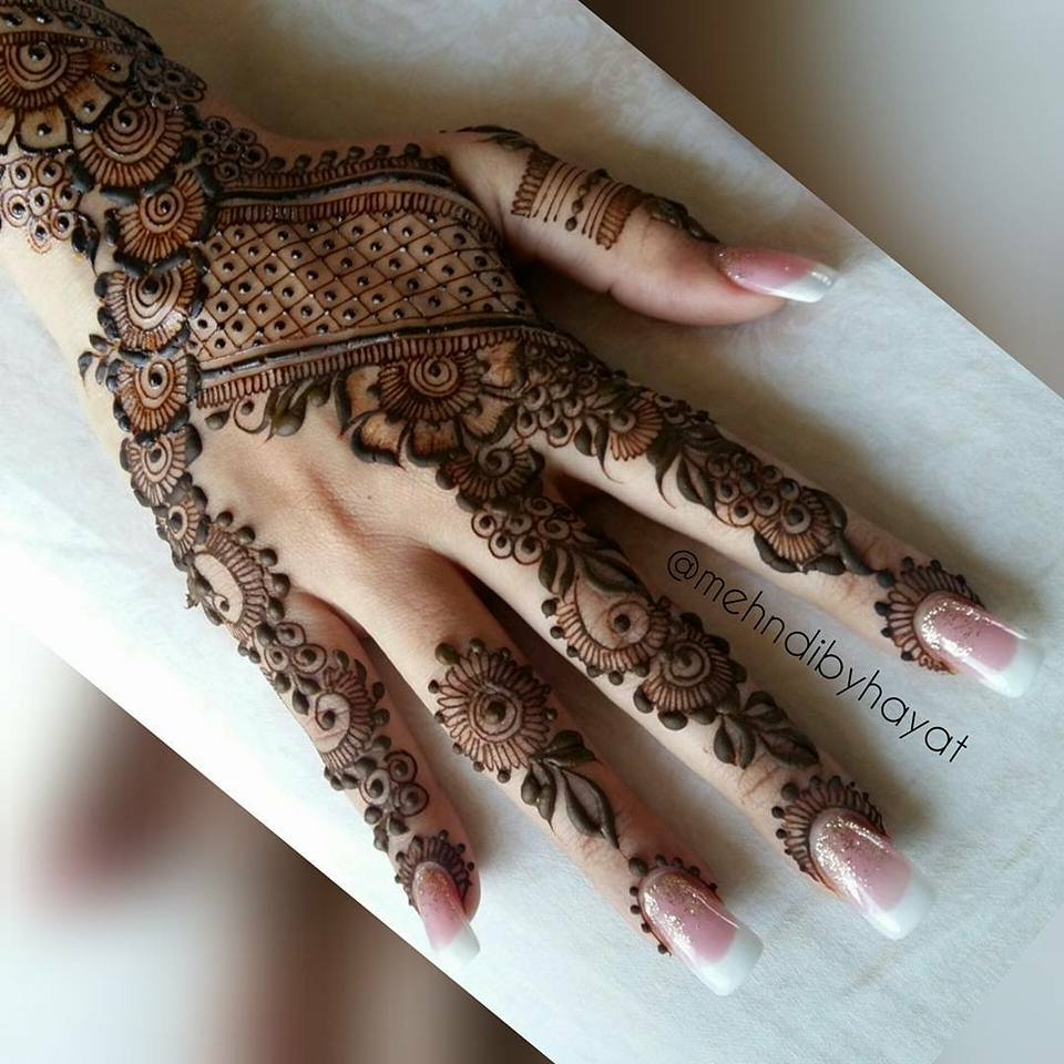 Brazilian Mehndi Designs Latest Style HD Wallpaper