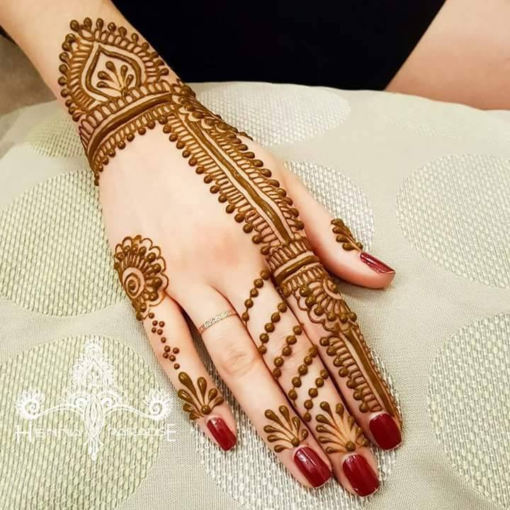Maruthani Design For Hands