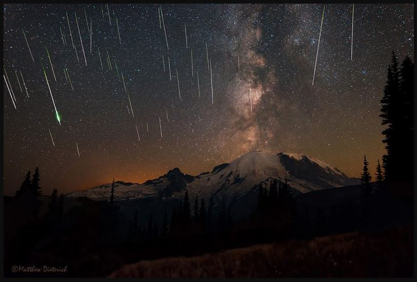 meteor showers tonight images  HD Wallpaper