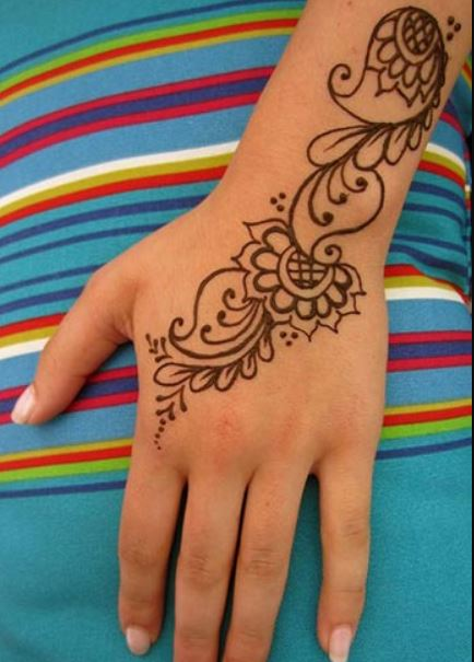 Mehandi Designs Easy And Simple