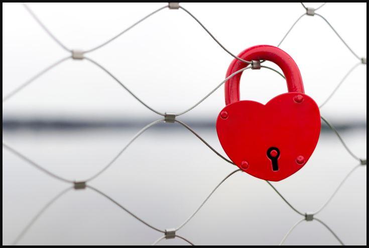 Animals And Birds Wallpaper Valentine Day Love Lock Wallpaper Hd Wallpaper