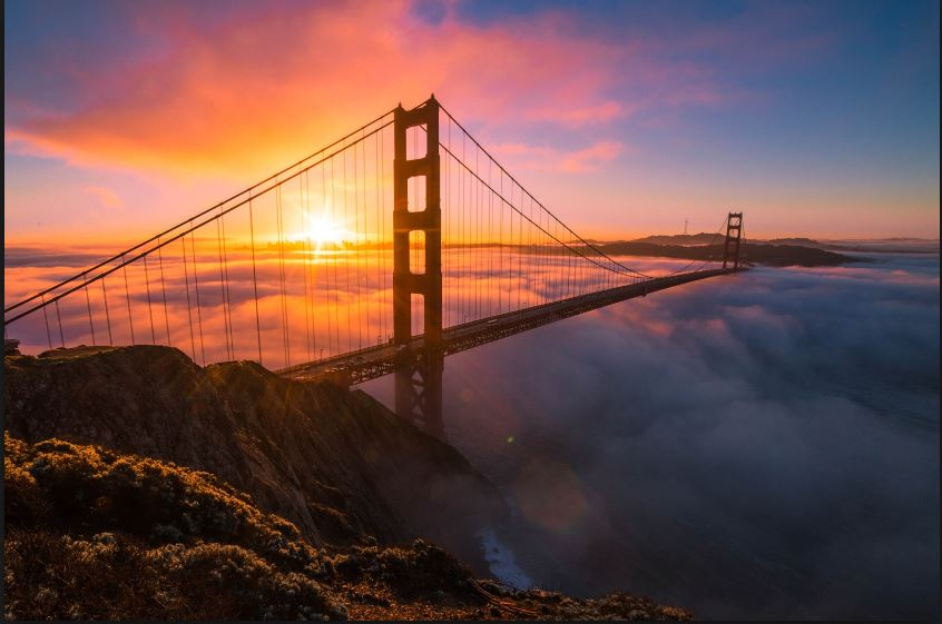 3d 2018 Wallpaper Golden Gate Image For Android Hd Wallpaper