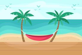 palm background hand designed wallpapers