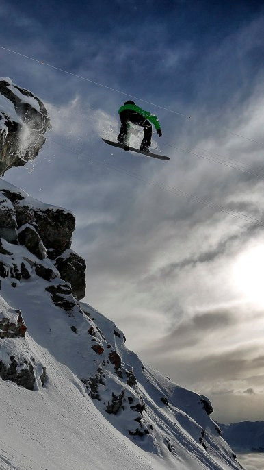 snow skating wallpapers for android