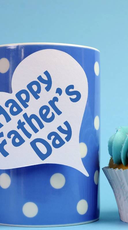 fathers day cup print wallpapers for android