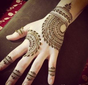 hd full backhand mehndi design