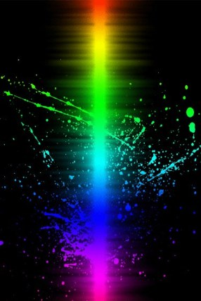 Color-beam-wallapaper-for iphoneHD_375x562