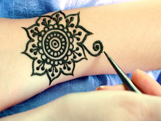 Floral-Arm-Band