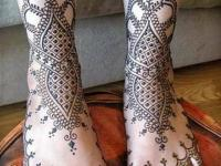 Simple Henna Designs for foot | Mehndi Designs for feet