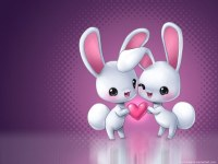 hd love carton android wallpapers_427x320