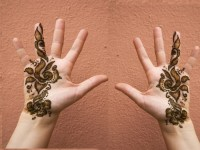 kids mehndi design for Eid