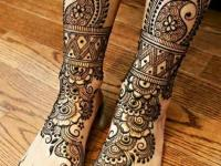 laegs and foot mehndi designs simple and cute