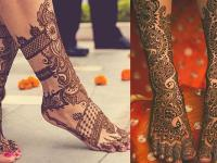 latest Henna designs complete set for bridal