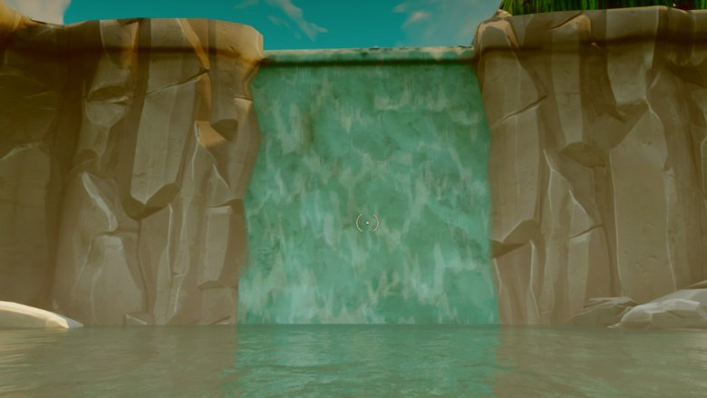 waterfall beautiful wallpaper of fortnite